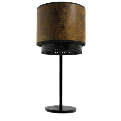 Club Table Lamp - brown