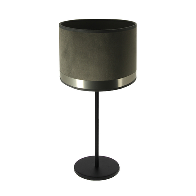 Art Deco Max Table Lamp - grey/brushed steel
