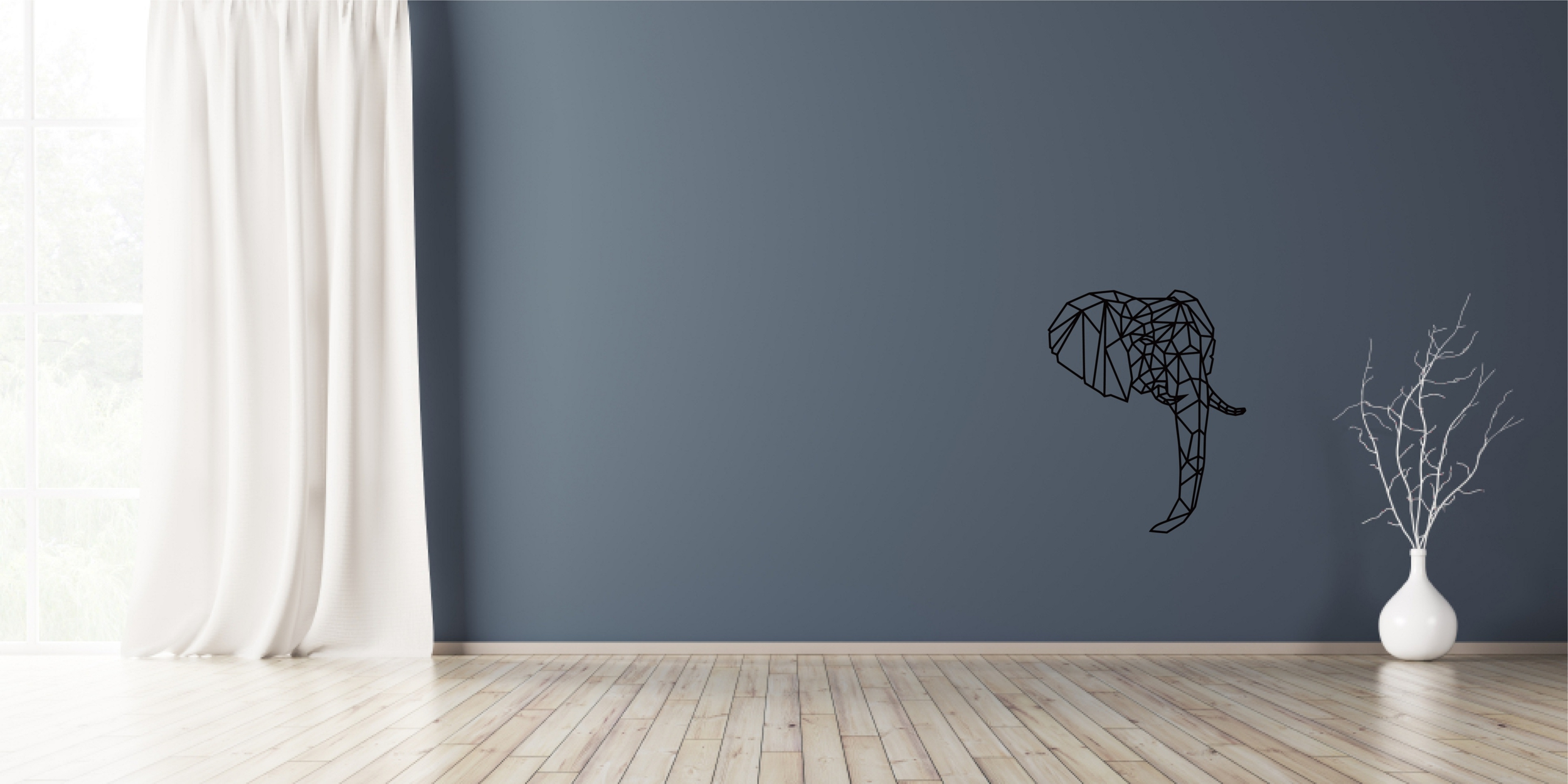 Deco origami éléphant