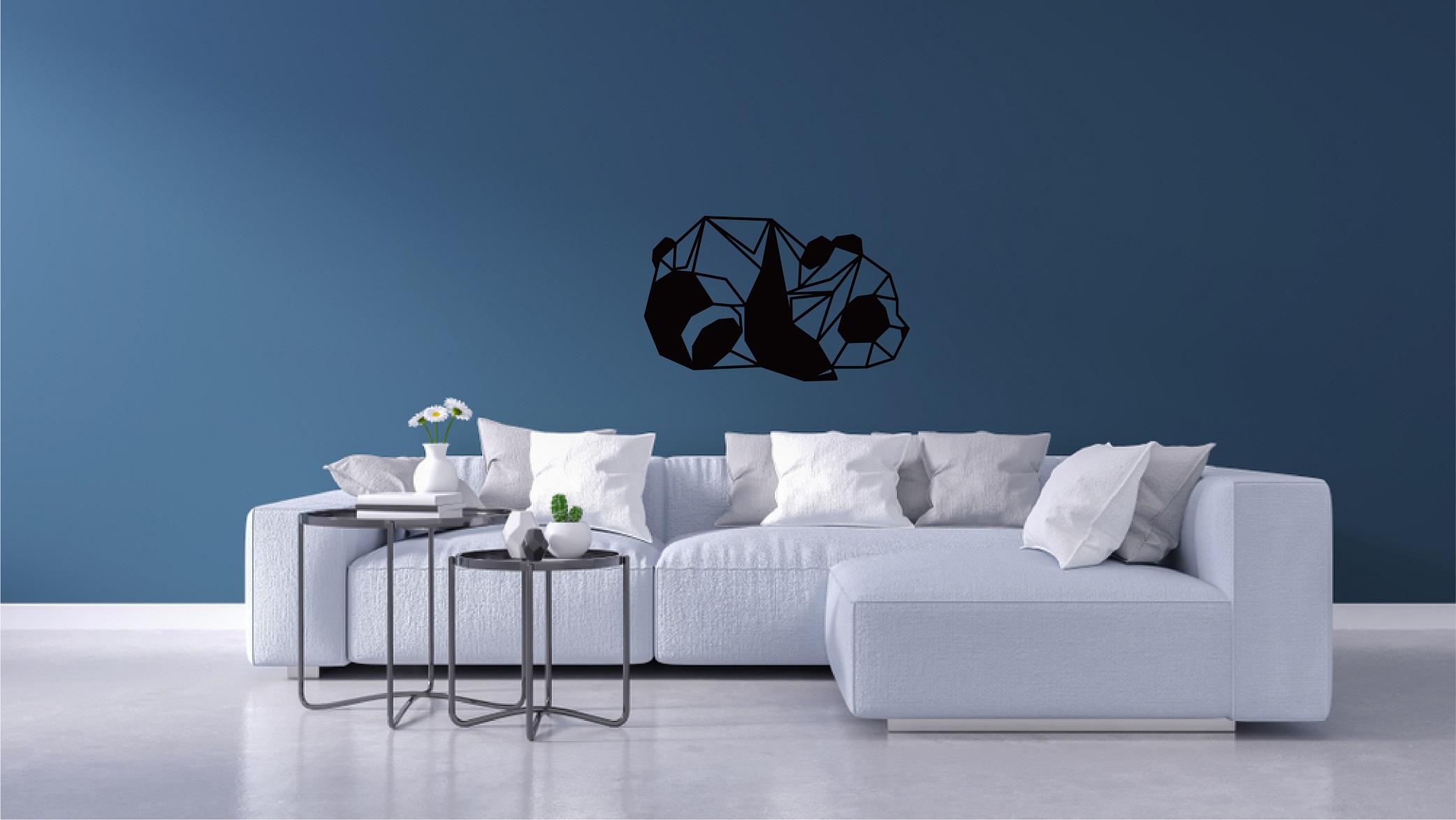 Deco origami panda