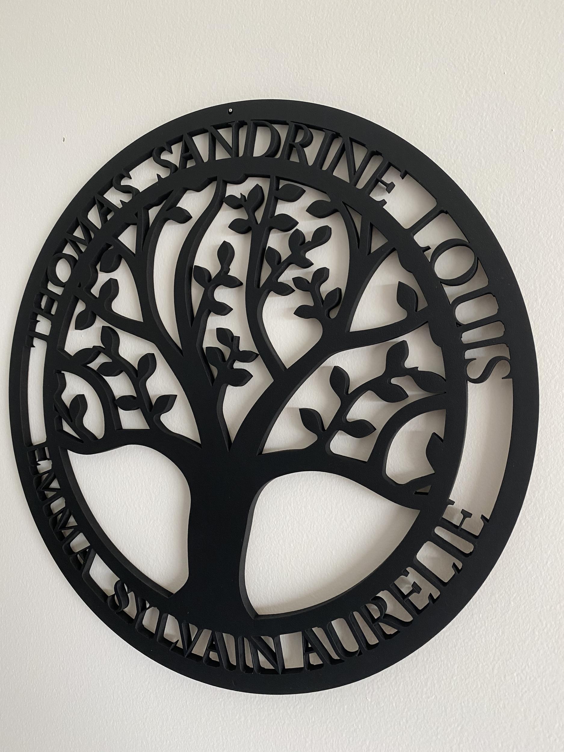 arbre medaillon 1