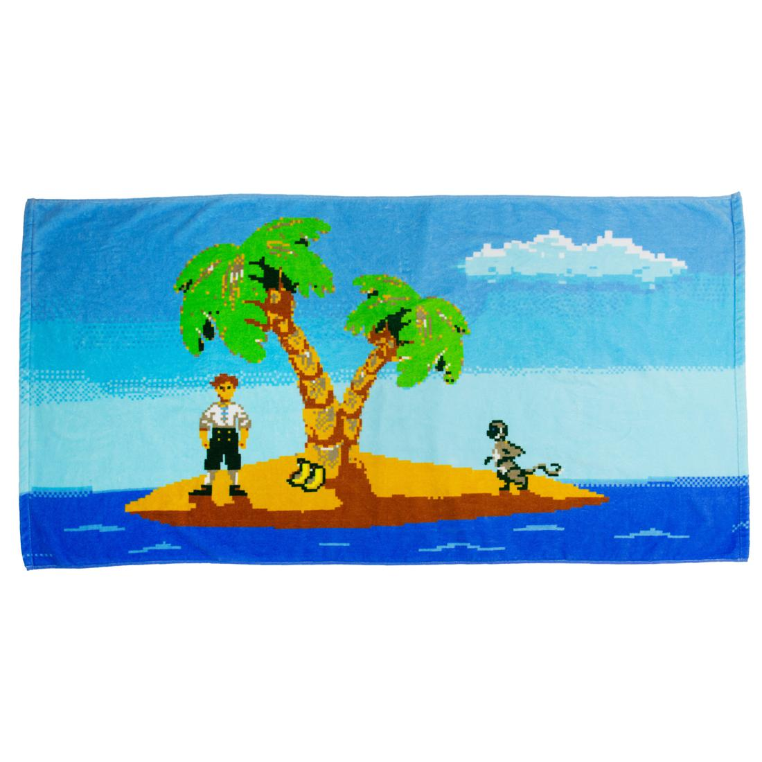 Serviette de bain Monkey Island