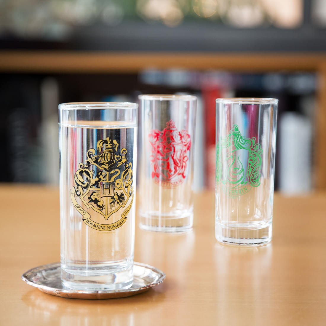 Lot de verres Harry Potter