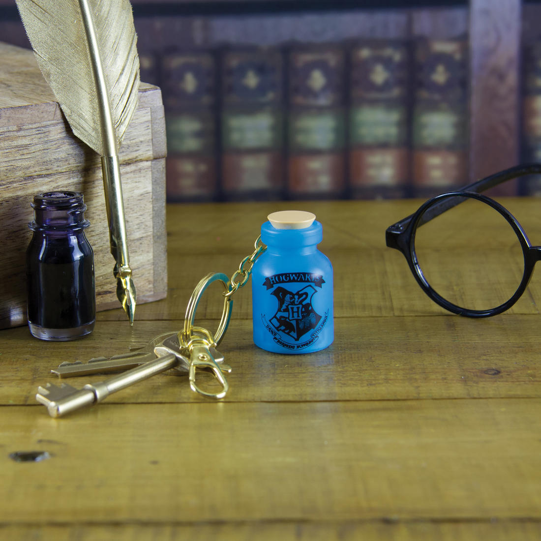 Porte-clés lumineuv Harry Potter potion magique