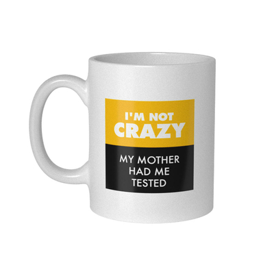 "Mug The Big Bang Theory ""My Mother Had Me Tested"""
