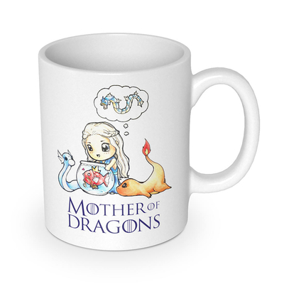 "Mug Game of Thrones ""Mother of Dragons"""