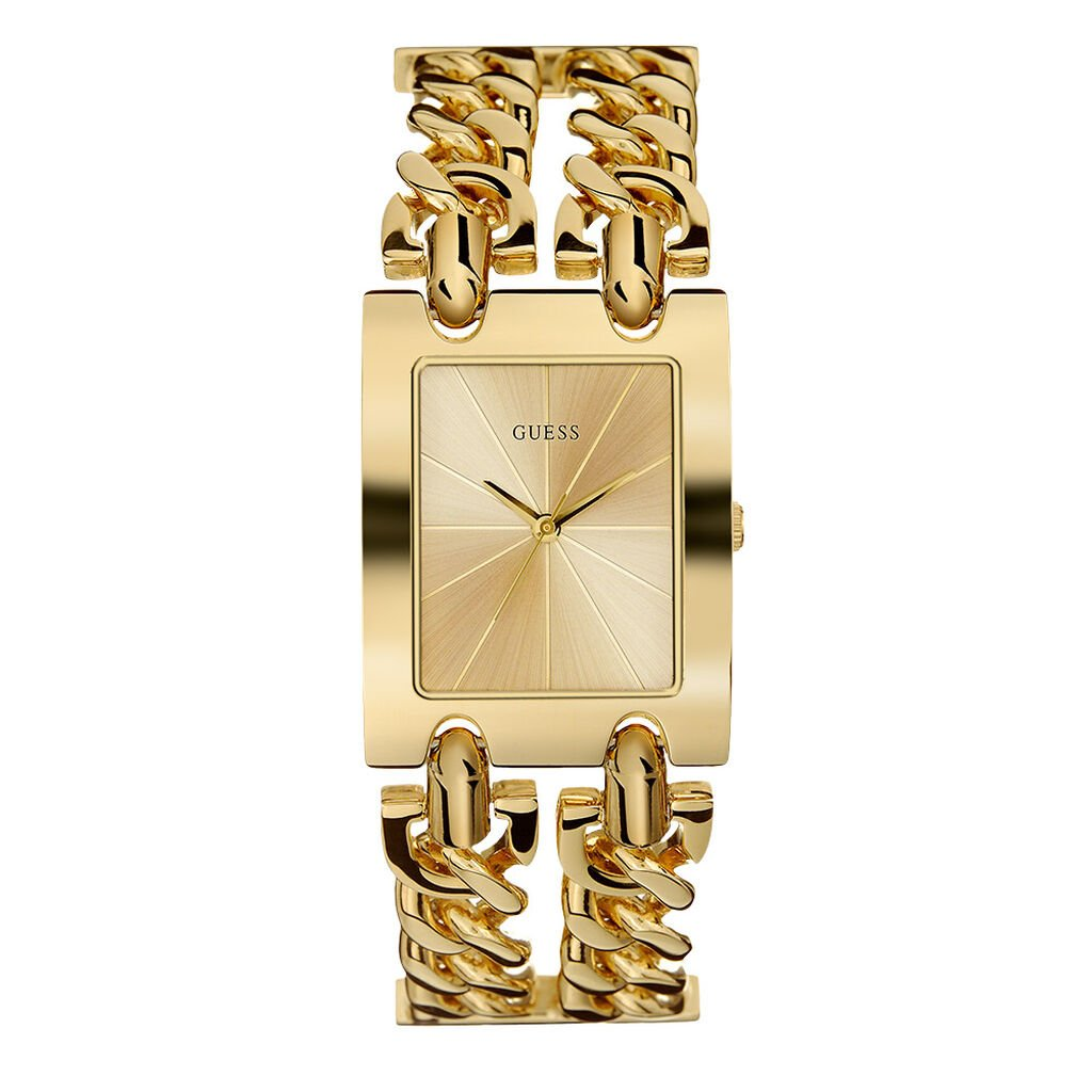 Montre femme Guess Heavy Champagne