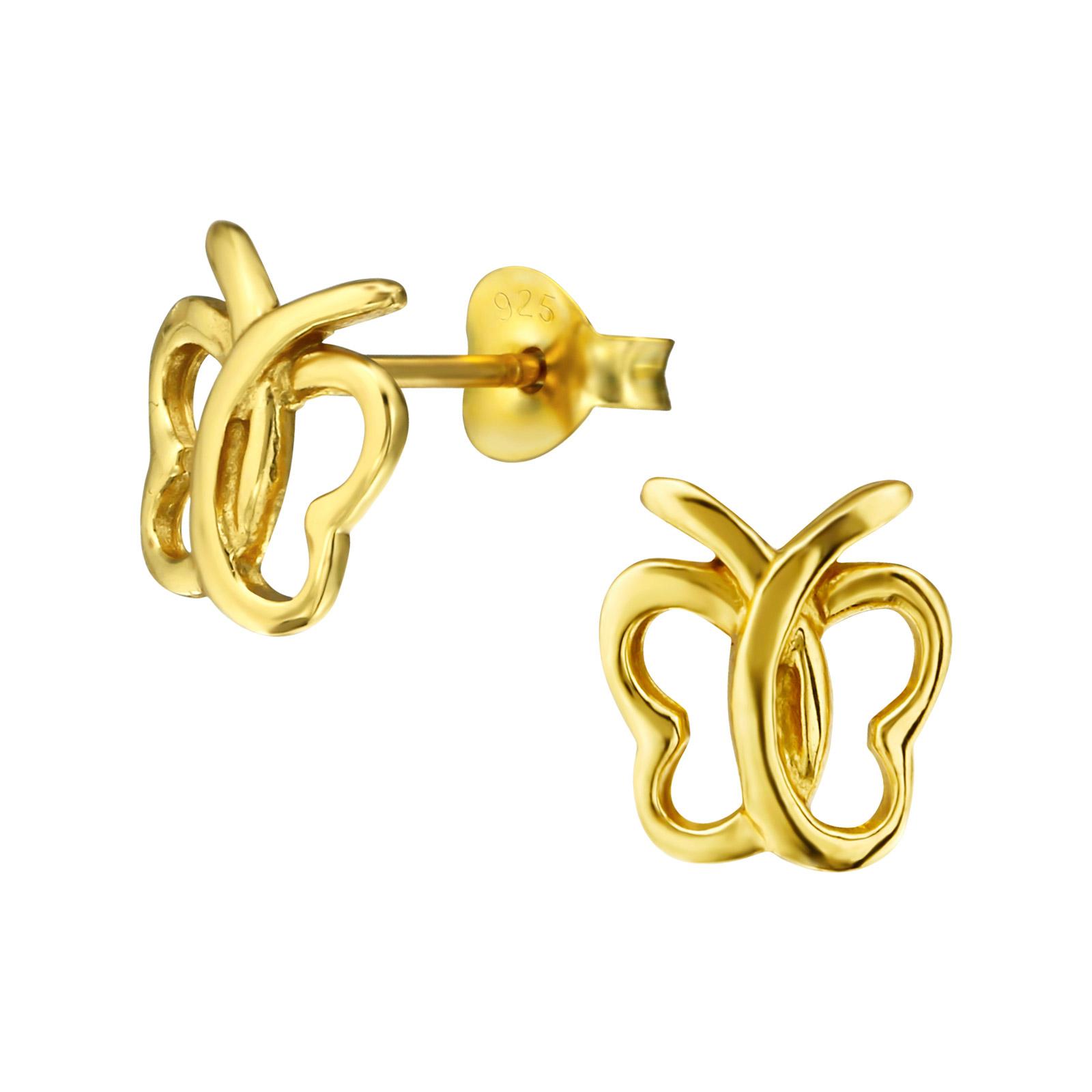 Les Papillons d\'Or jaune