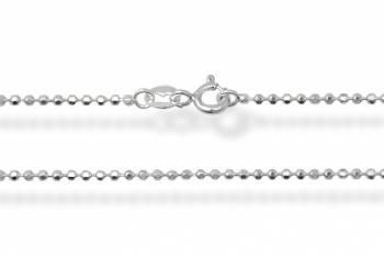 Chaîne taille Diamant 45 argent