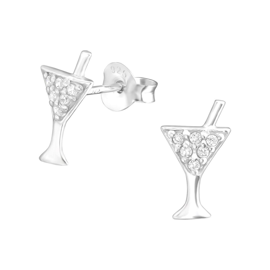 boucle d'oreille cocktail