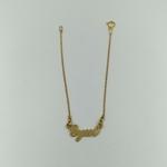 bracelet-gym-enfant-argent-or-jaune-17-cm