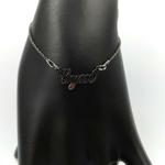 bracelet-gym-femme-argent-rhodium-noir-20-cm-1