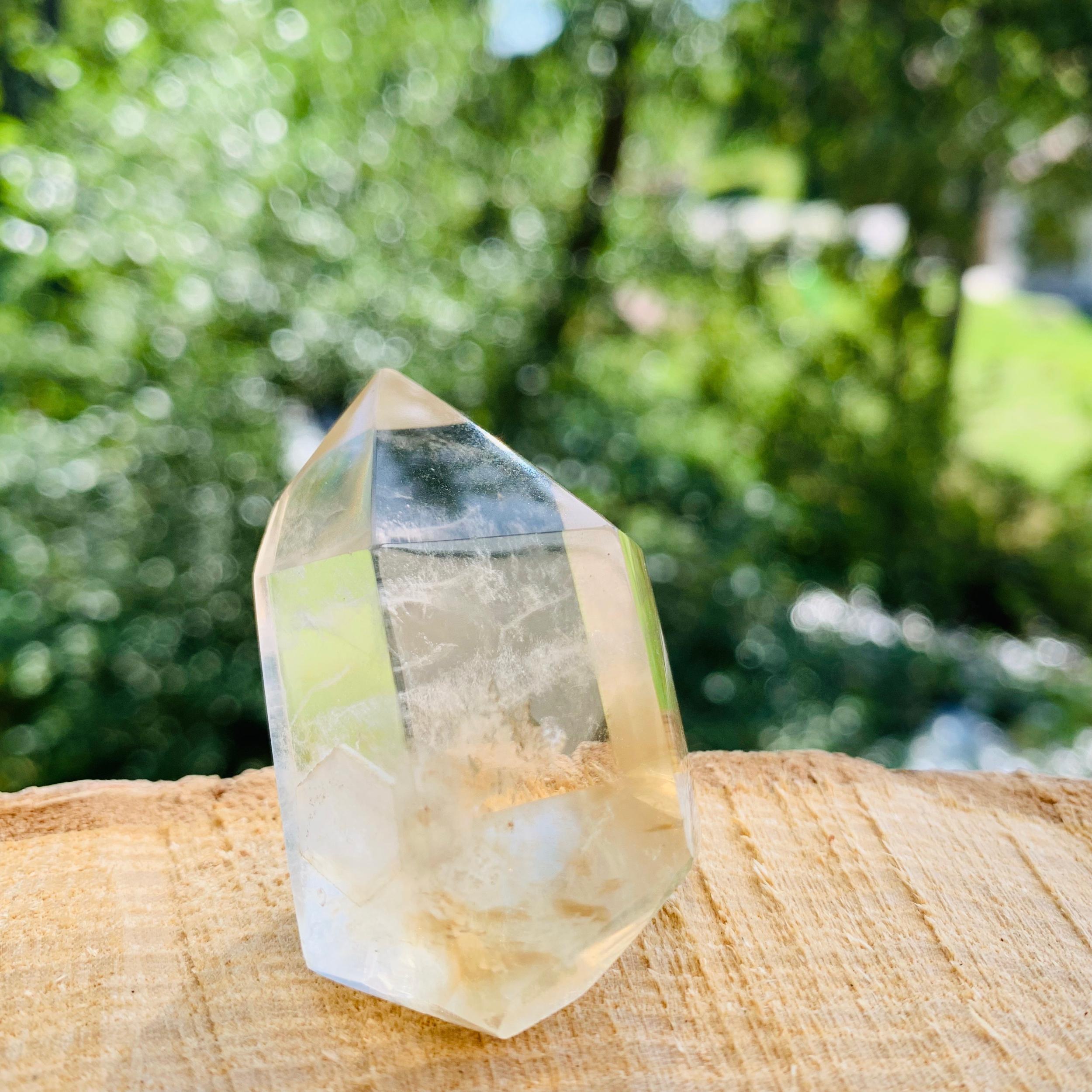 Pointe de Citrine quartz 50mm