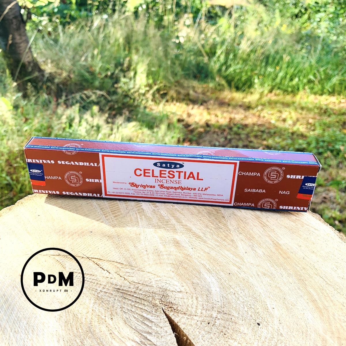Encens Satya Celestial Incense paquet de 15gr