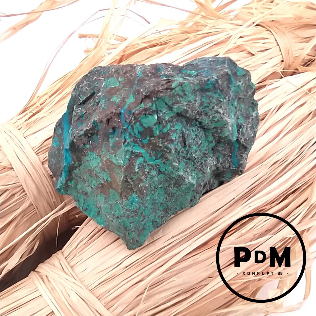 Pierre brut de Chrysocolle en pierre naturelle
