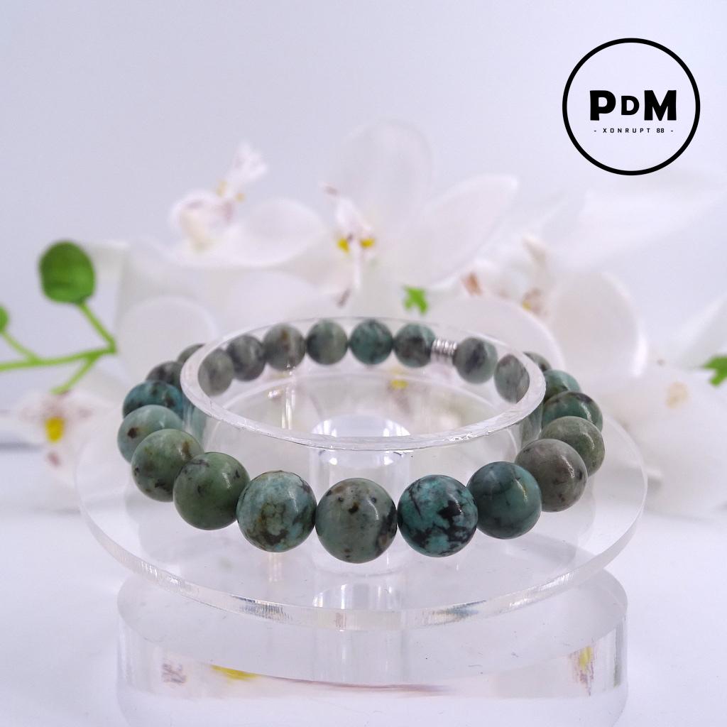Bracelet Turquoise en pierre naturelle perle 8 mm