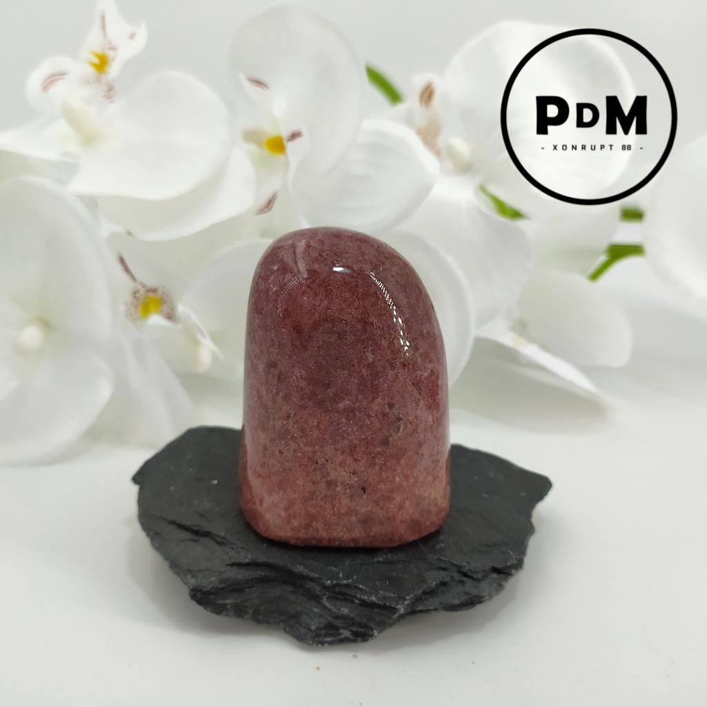 Forme libre en Lépidolite type rocher