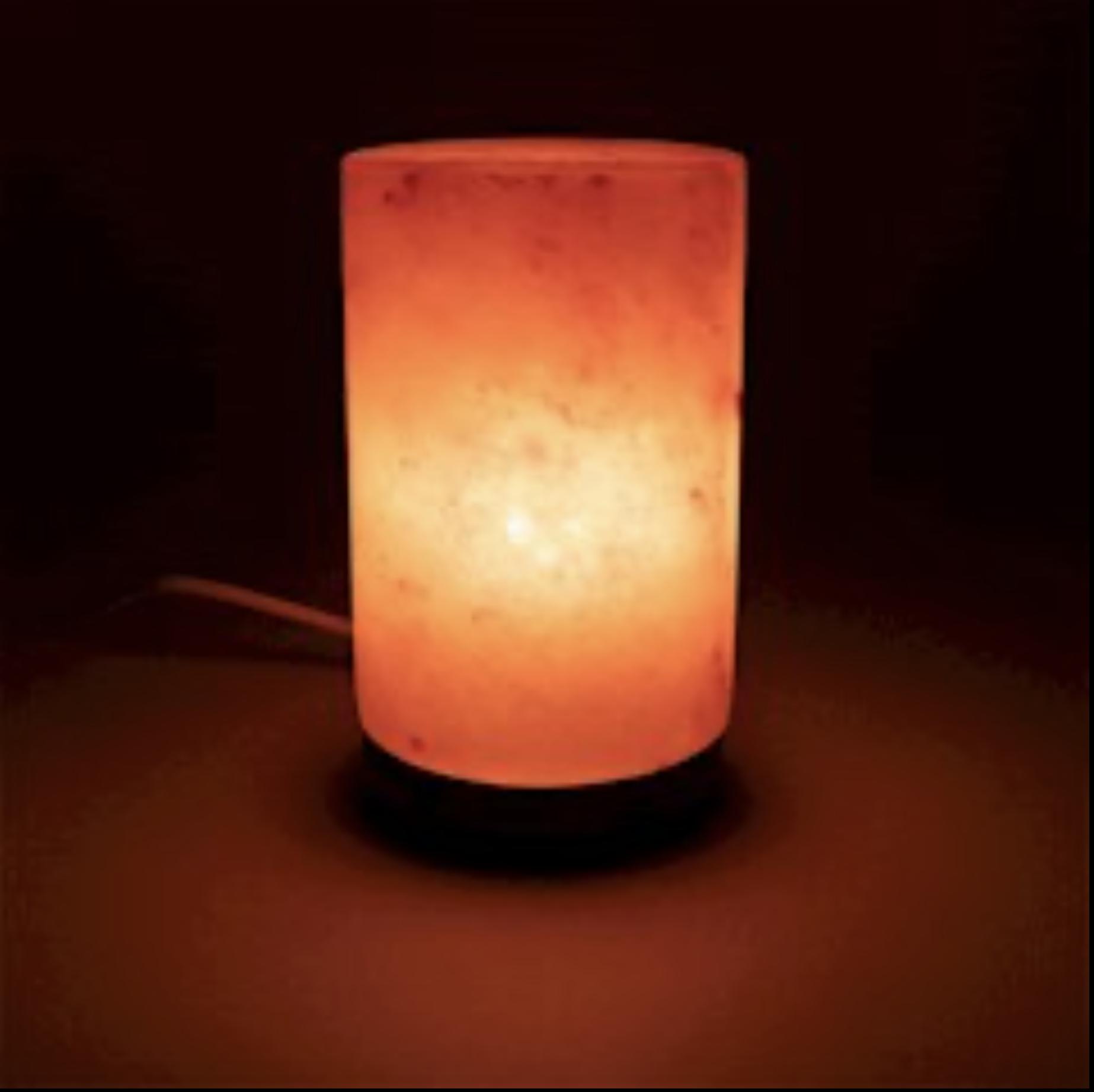 Lampe de sel l\'himalaya cylindre env 2,8 kg