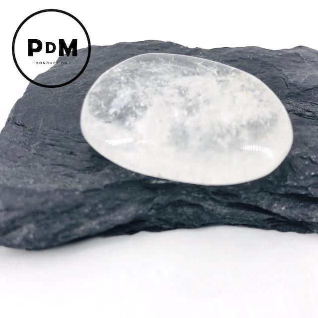 Galet cristal de roche - quartz blanc 30-50 mm