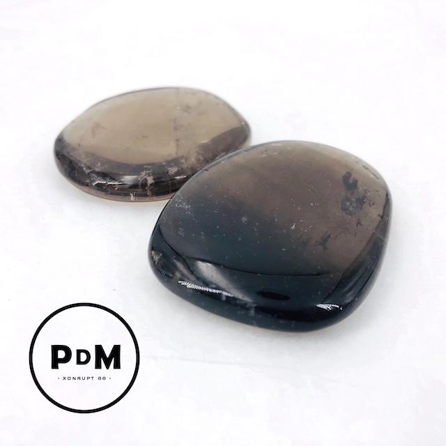Galet quartz fumé 30-50 mm