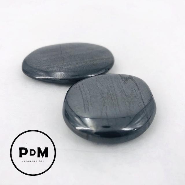 Galet hématite 30-50 mm