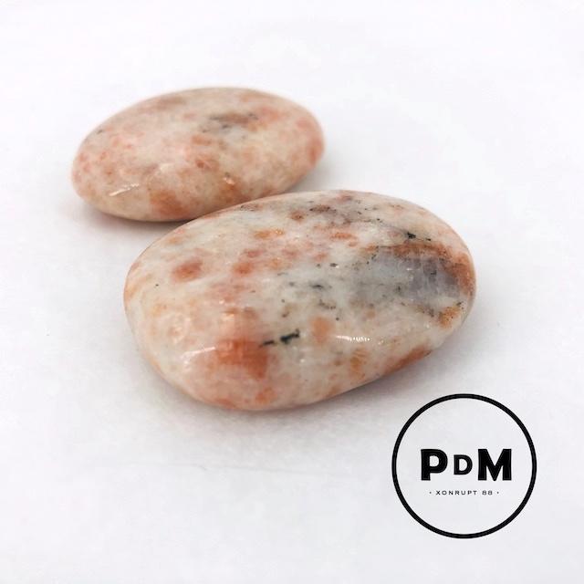 Galet pierre de soleil 30-50 mm