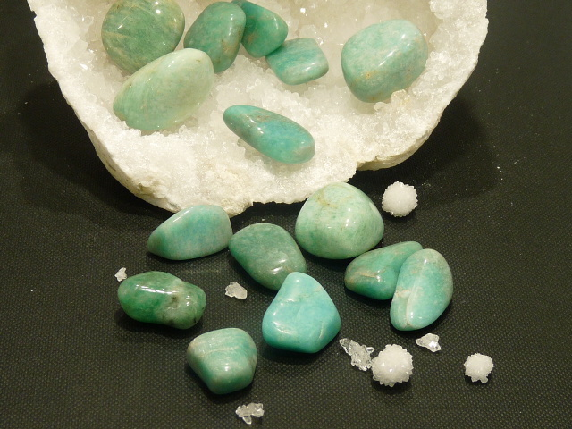 Pierres Roulees Amazonite