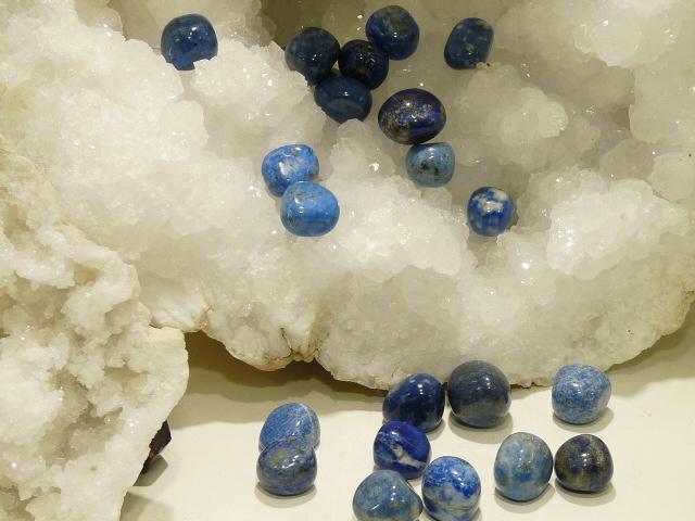 Pierres Roulees Lapis Lazuli Pm