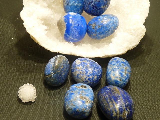 Pierres Roulees Lapis Lazuli Mm
