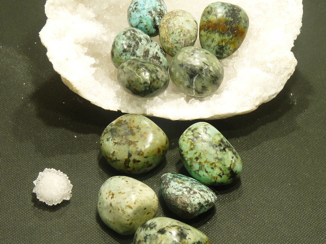 Pierres Roulees Turquoise