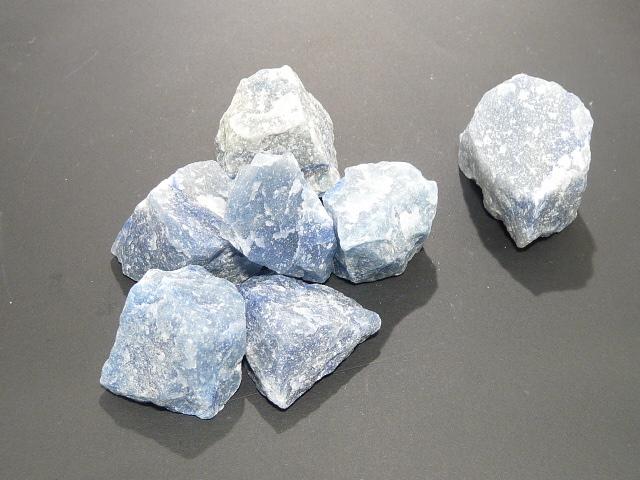 Pierre Brute 3 - 4 Cm Quartz Bleu