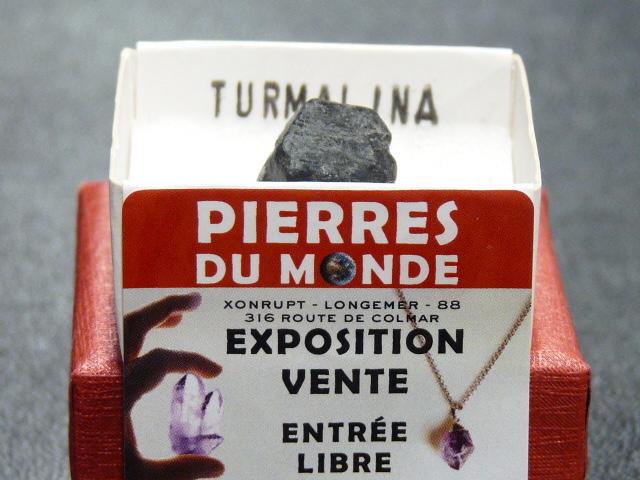 Pierre Brut De Collection Tourmaline