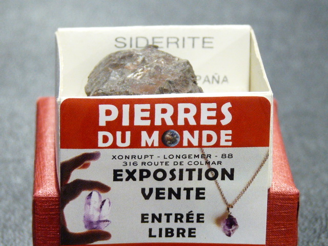 Pierre Brut De Collection Siderite
