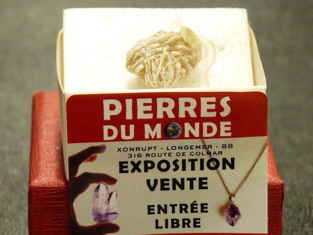 Pierre Brut De Collection Rose Des Sables