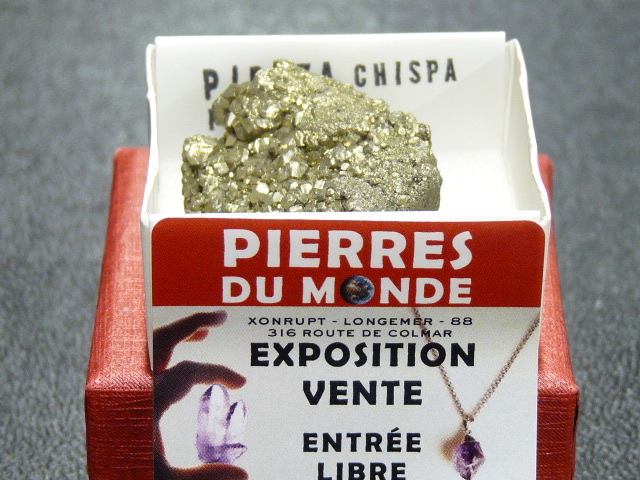 Pierre Brut De Collection Pyrite