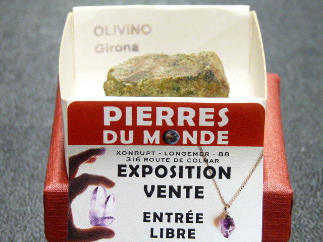 Pierre Brut De Collection Olivine