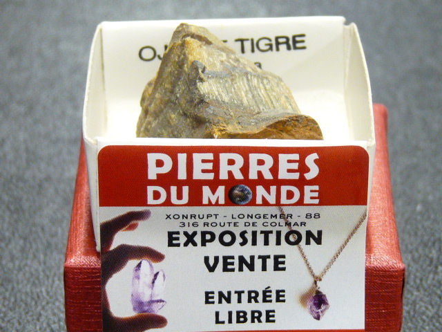 Pierre Brut De Collection Oeil De Tigre