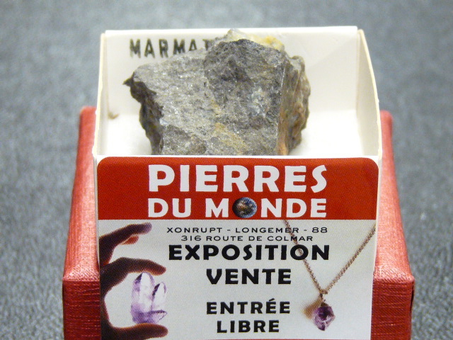 Pierre Brut De Collection Marmatite