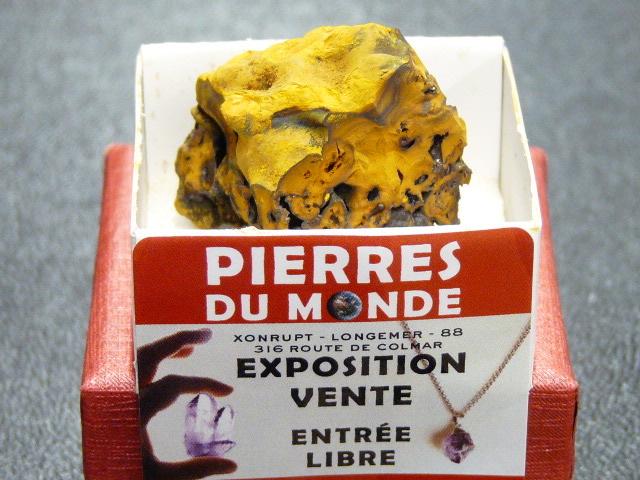 Pierre Brut De Collection Limonite