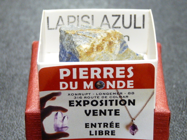 Pierre Brut De Collection Lapis Lazuli