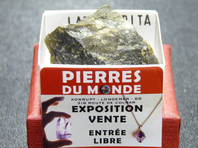 Pierre Brut De Collection Labradorite