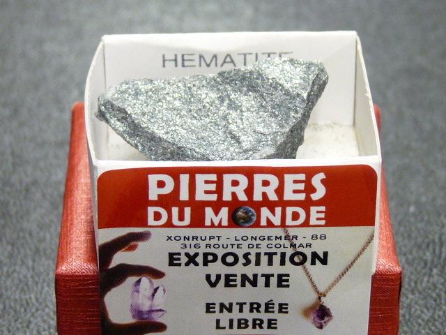 Pierre Brut De Collection Hematite