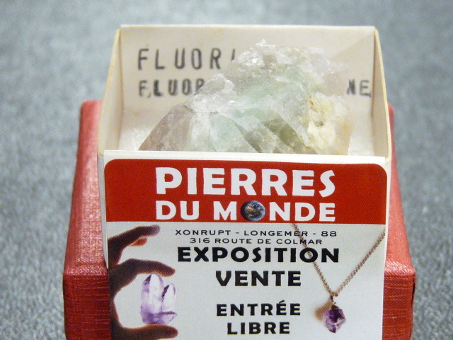 Pierre Brut De Collection Fluorite