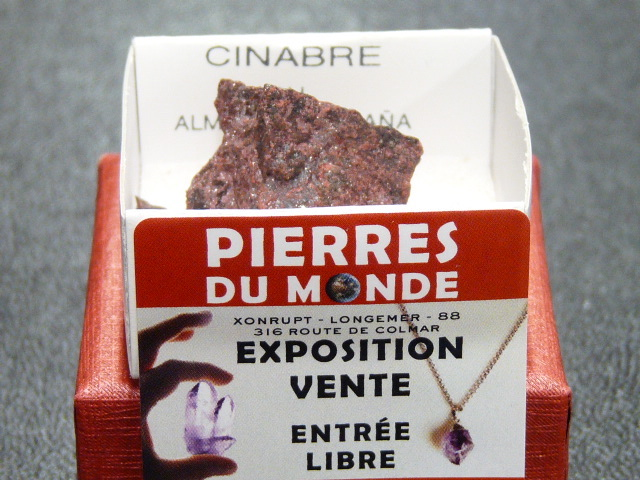 Pierre Brut De Collection Cinabre