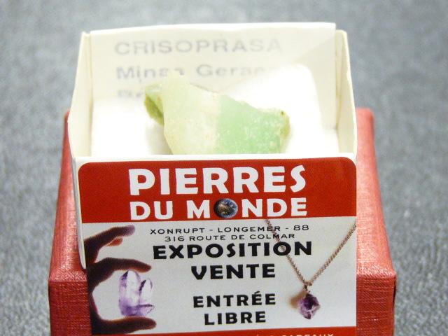 Pierre Brut De Collection Chrysoprase