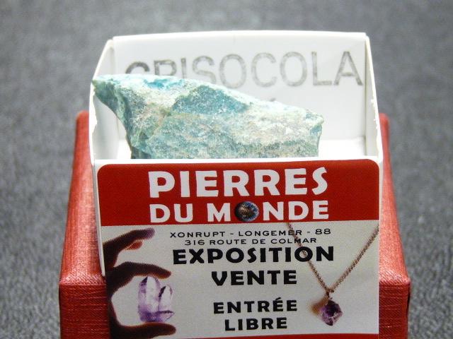 Pierre Brut De Collection Chrysocolle