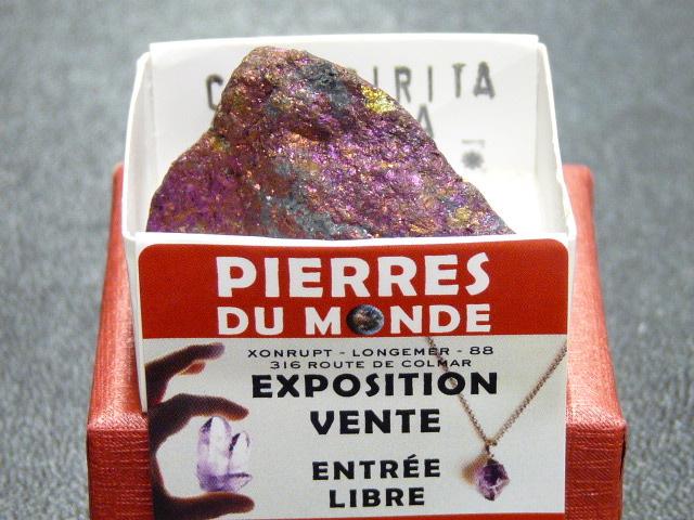 Pierre Brut De Collection Chalcopyrite
