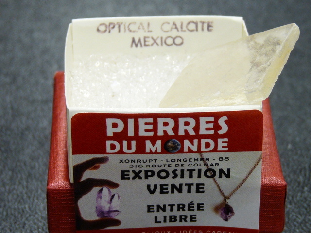 Pierre Brut De Collection Calcite Optical