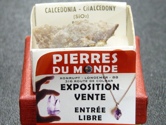 Pierre Brut De Collection Calcedoine
