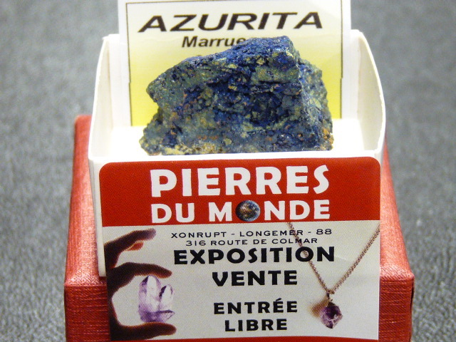 Pierre Brut De Collection Azurite